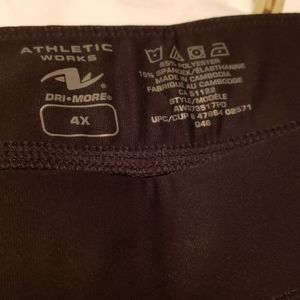 Athletic Works Pants - Athletic works black and white leggings